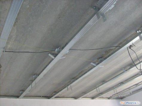 сделать потолок из гипсокартона своими руками