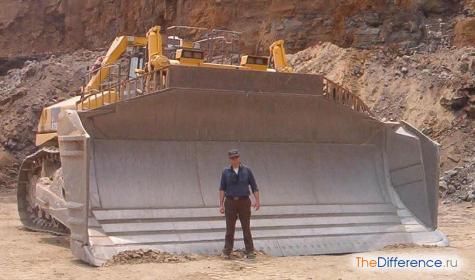 самый большой в мире бульдозер