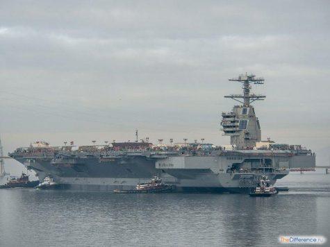 самый большой в мире военный корабль