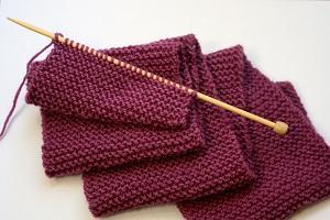 Как вязать шарф