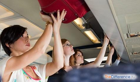 что можно брать в самолет