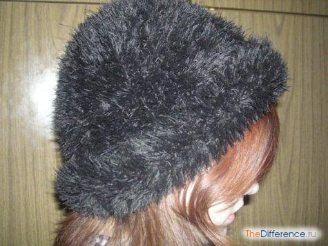 связать шапку спицами схема