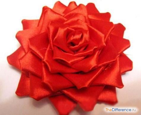 buket-28 Как сделать розу из атласной ленты?