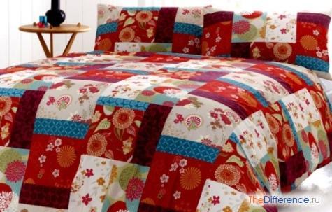 сшить покрывало на кровать