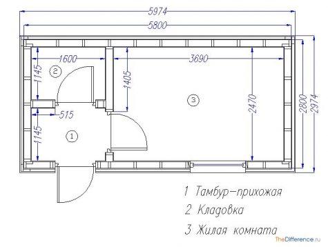 как построить бытовку на даче