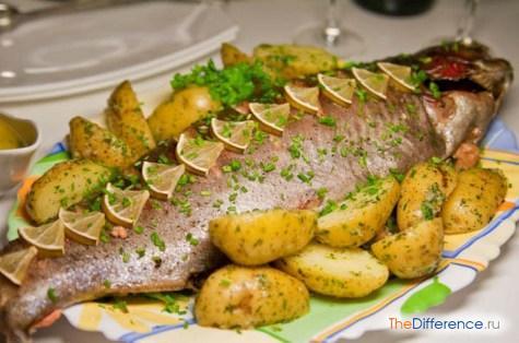 приготовить рыбу в духовке целиком