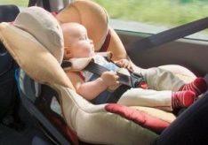 Как установить детское автокресло?