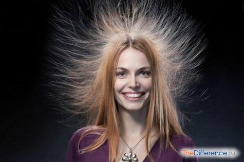 что делать если сильно магнитятся волосы