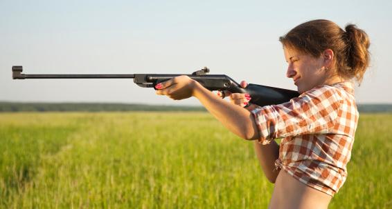 Стрельба из пневматического оружия