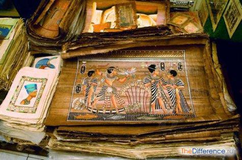 что можно привезти из Египта