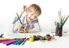 Что любят рисовать маленькие дети?