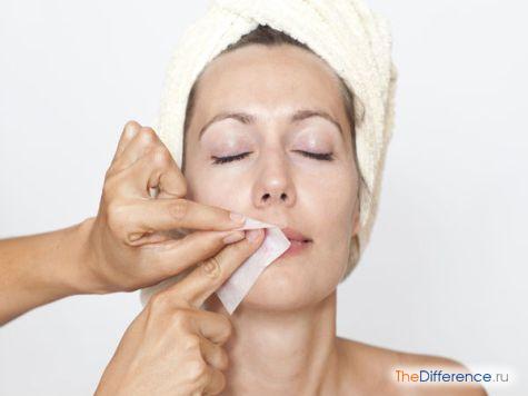 как удалить волосы на лице навсегда в домашних условиях