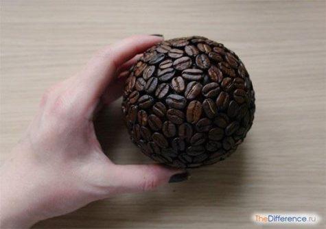как сделать кофейное дерево своими руками фото
