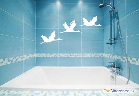 как правильно положить плитку в ванной