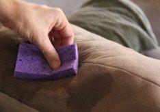 Как убрать запах мочи с дивана?