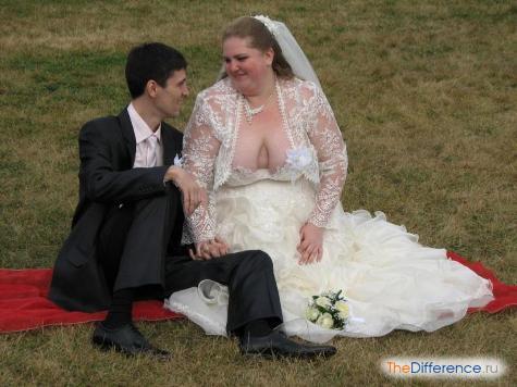 самые ужасные свадебные платья