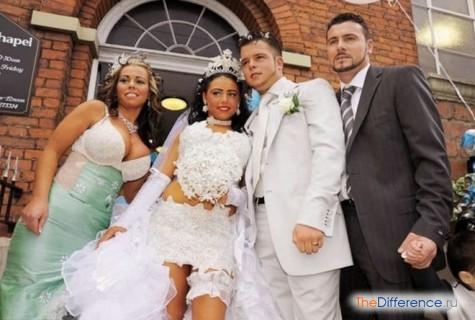 самые ужасные свадебные платья фото