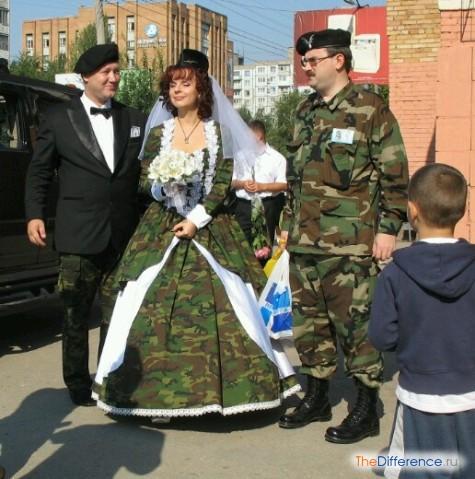 самые ужасные свадебные платья в мире