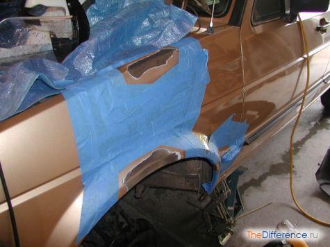 как правильно избавиться от ржавчины на машине