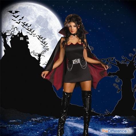 кем одеться на Хэллоуин девушке