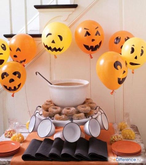 как отметить хэллоуин дома