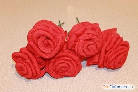 Как из салфетки сделать цветок без ножниц фото 754