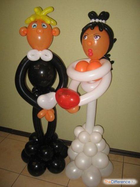 как украсить подъезд на свадьбу своими руками