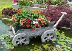 Как украсить сад и огород своими руками?
