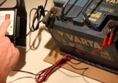 Каким током заряжать автомобильный аккумулятор?