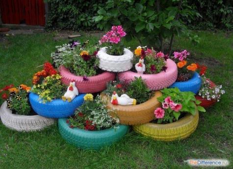 как украсить свой двор возле дома