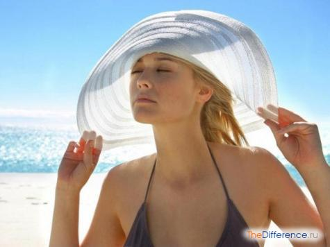 как защитить волосы на море