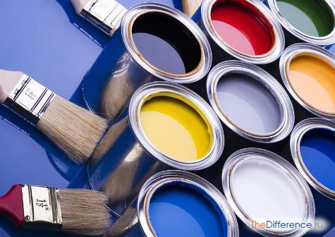 какой краской красить мебель