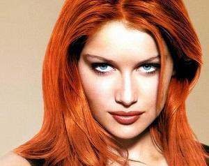 Как придать волосам рыжий оттенок