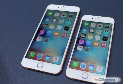 разница между iPhone 6 и iPhone 6S