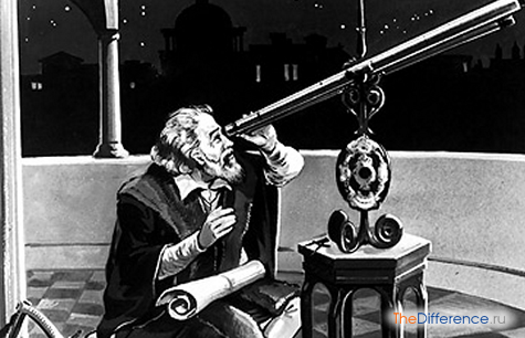 как видны звезды в телескоп