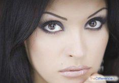 Как красить круглые глаза?
