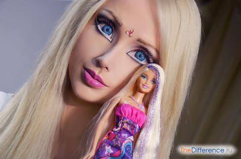 как накрасить глаза как у куклы