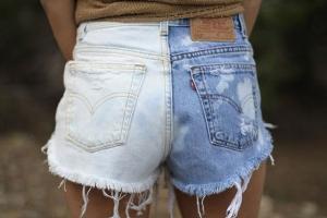 Как покрасить джинсы в синий цвет