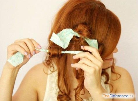 как сделать волнистые волосы без плойки