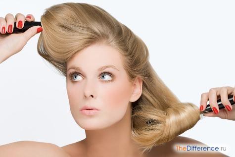 Как сделать тяжелее волосы