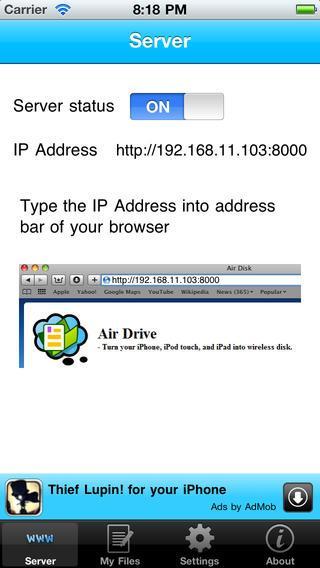 как скинуть документы на ipad