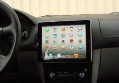 Как закрепить планшет в машине?