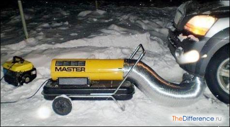 как завести машину автомат в мороз