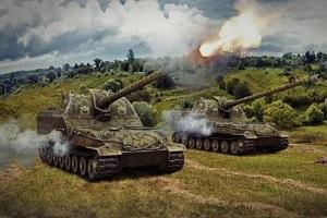 Как стрелять из САУ в World of Tanks
