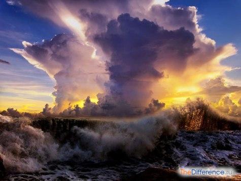 в чем разница между бурей и ураганом