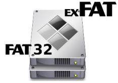 Разница между FAT32 и exFAT