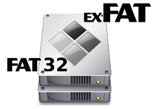 Чем отличается FAT32 от exFAT