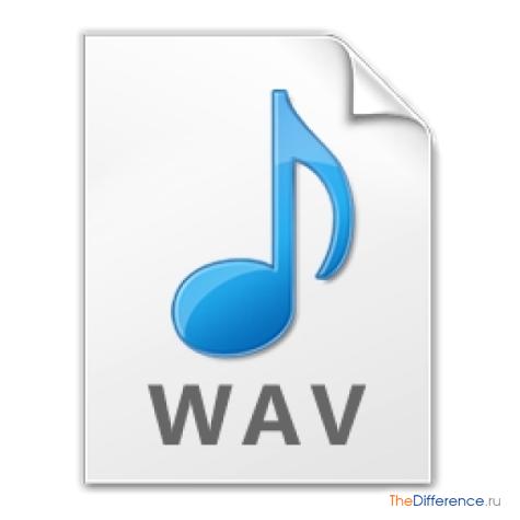 отличие MP3 от WAV