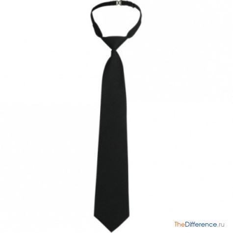 чем отличается женский галстук от мужского