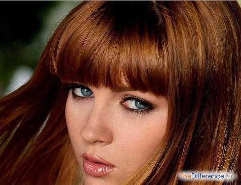 какой цвет волос подходит к серым глазам